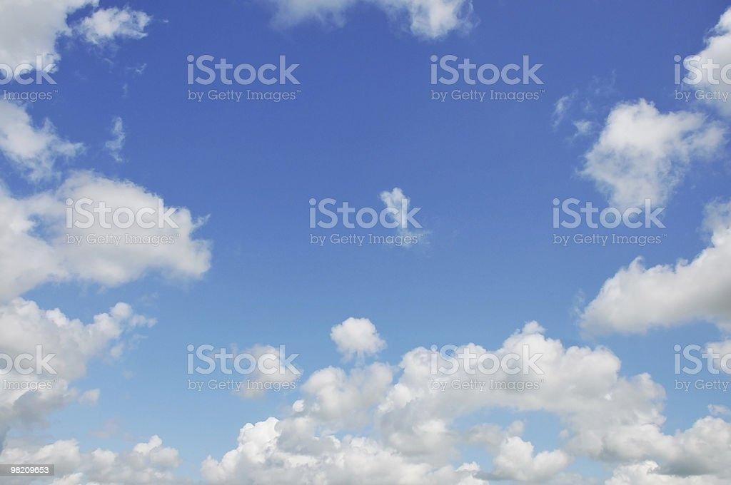 구름 blue sky royalty-free 스톡 사진