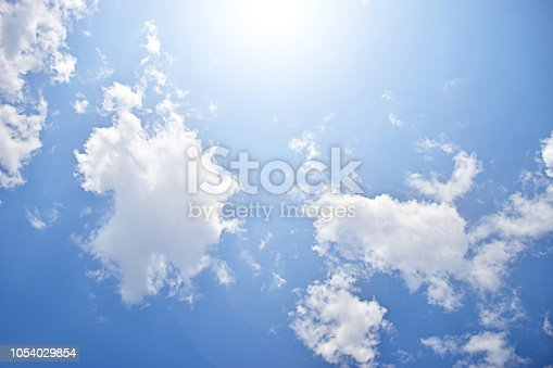 istock Clouds on sky 1054029854