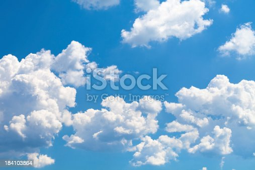 istock Clouds on sky 184103864