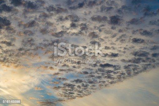 istock Clouds on sunsrise sky 516145598