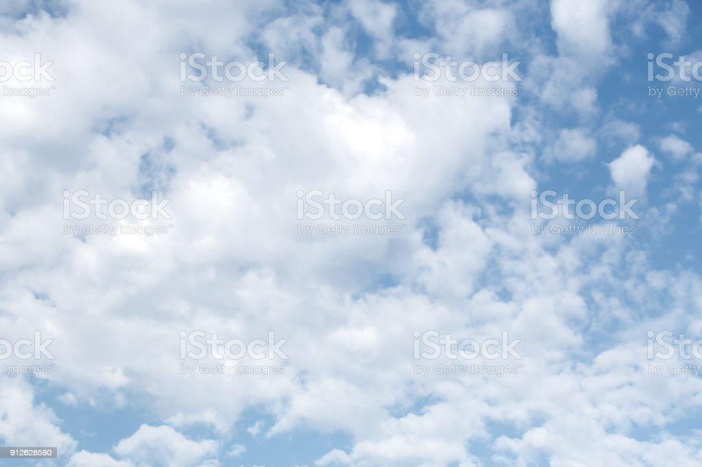 Clouds On The Blue Sky Texture Or Background Stock Photo Download Image Now Istock