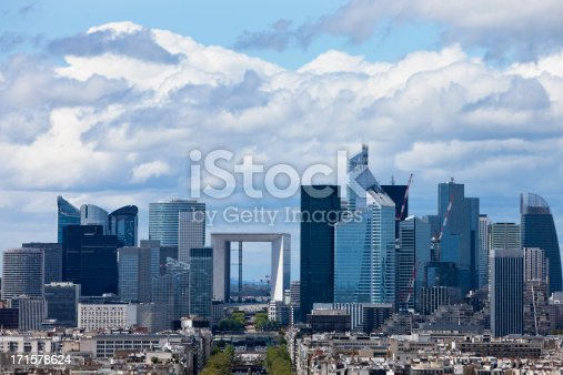 Paris view towards La Defense,click  on lightboxes below to view more related images: