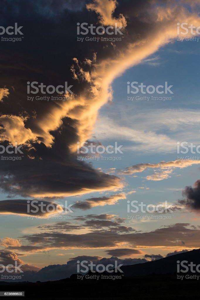 Clouds over Rioja foto