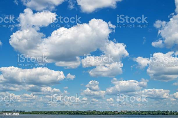 Photo of Clouds over river
