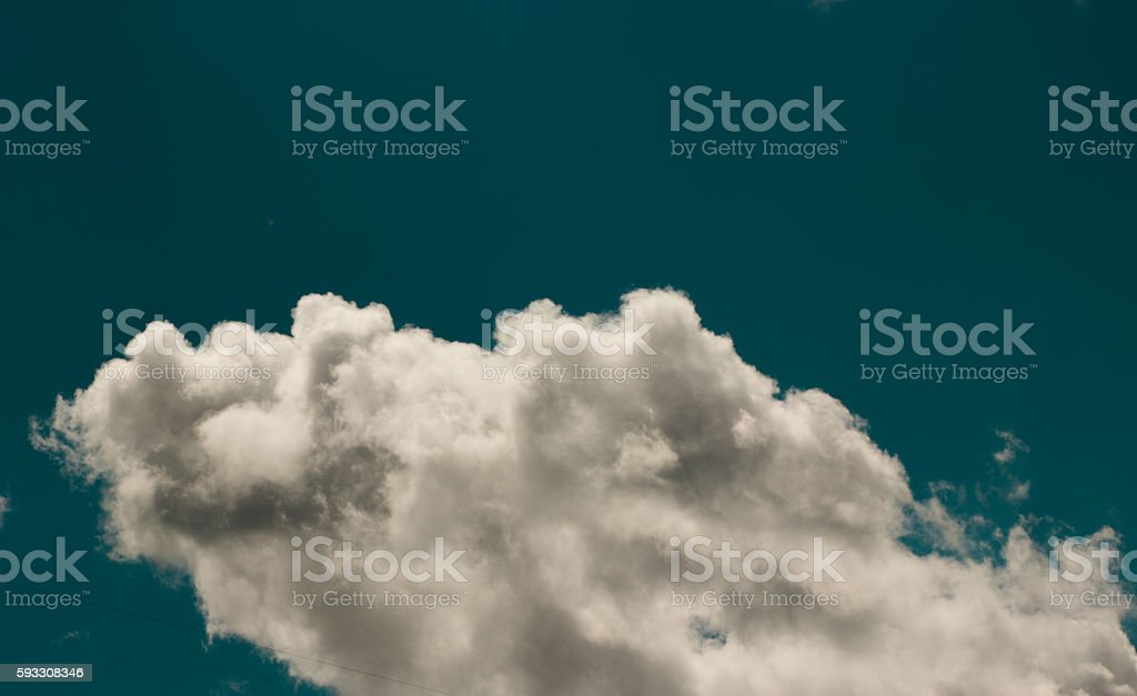 clouds stock photo