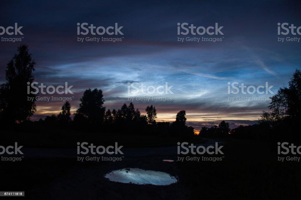 雲彩 免版稅 stock photo