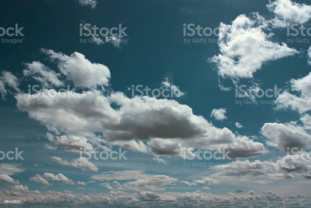 Nuvens - Foto de stock de Azul royalty-free