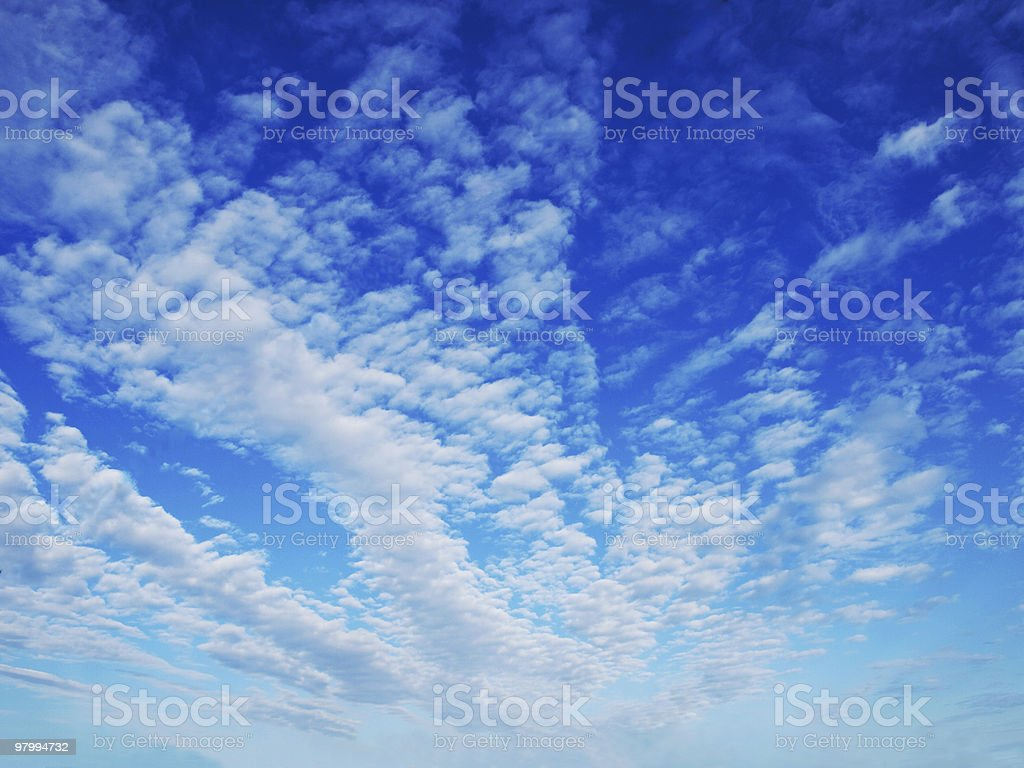 clouds royalty free stockfoto