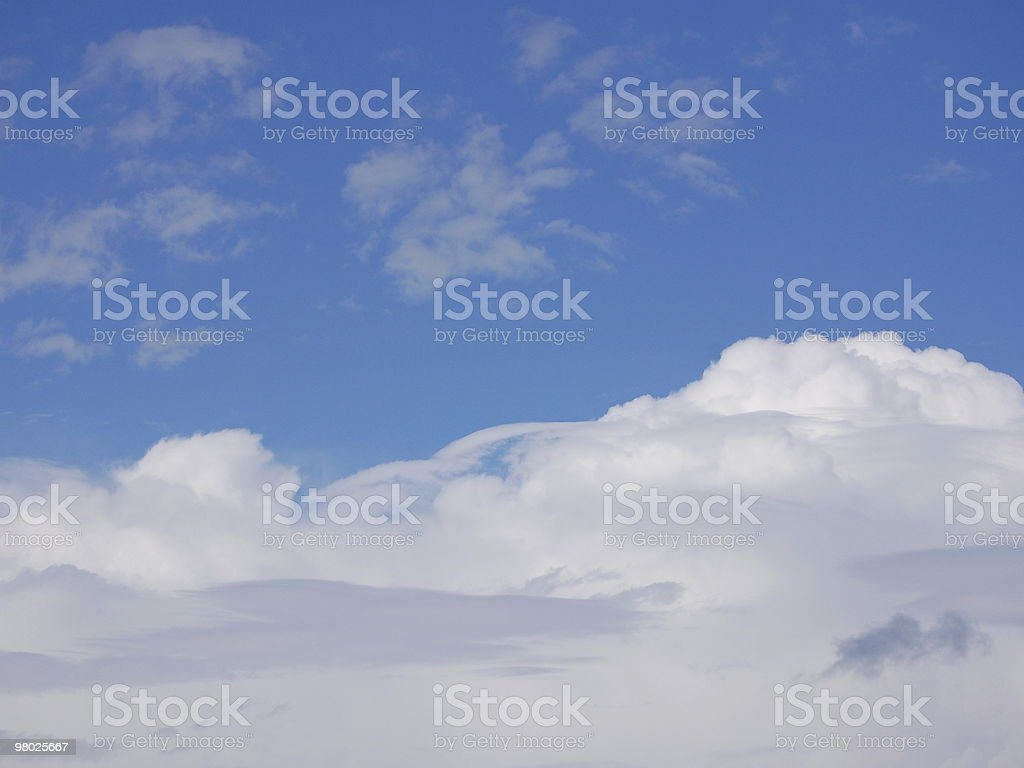 Nuvole foto stock royalty-free