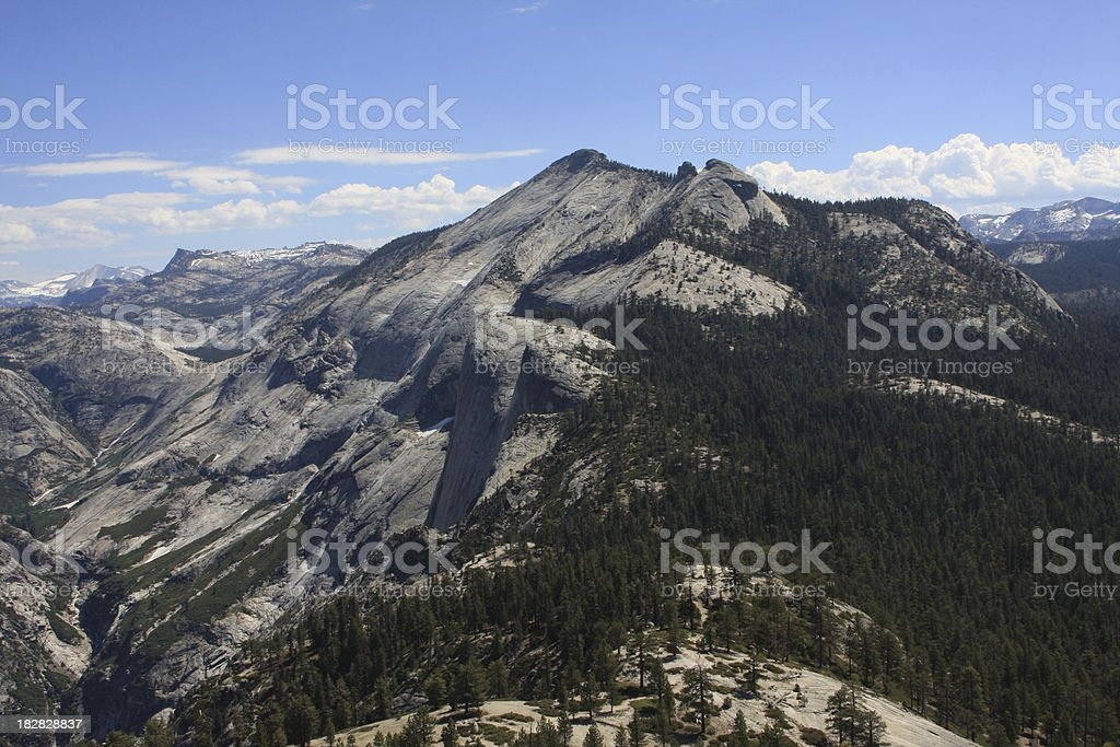 Clouds Rest in Yosemite National Park stock photo
