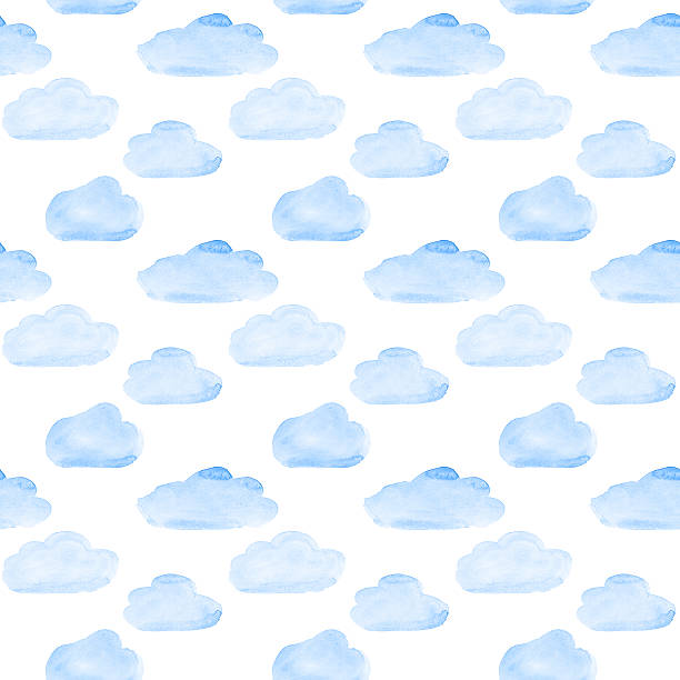 Clouds seamless stock photo