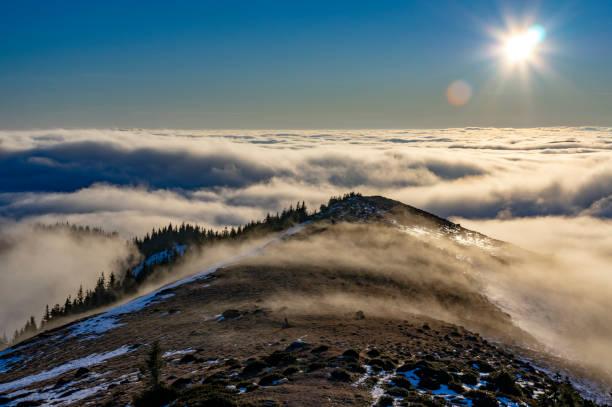 Wolken von oben gesehen – Foto