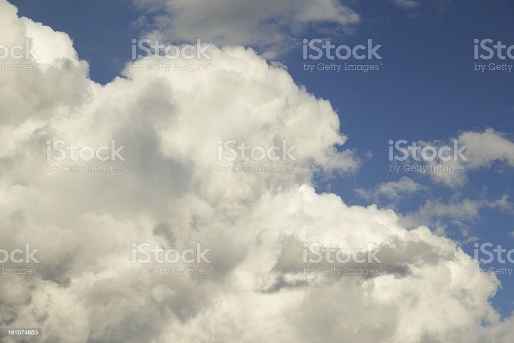Clouds Sky Blue Heaven royalty-free stock photo