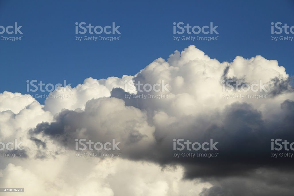 Clouds Storm Blue Sky royalty-free stock photo