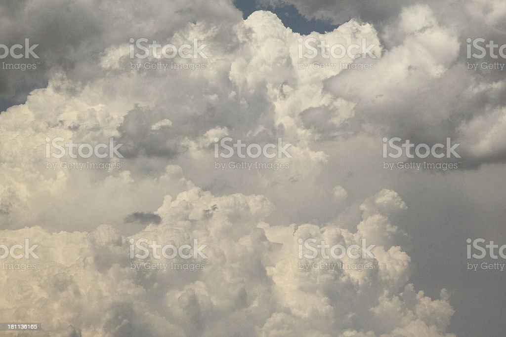 Clouds Stormy Sky royalty-free stock photo