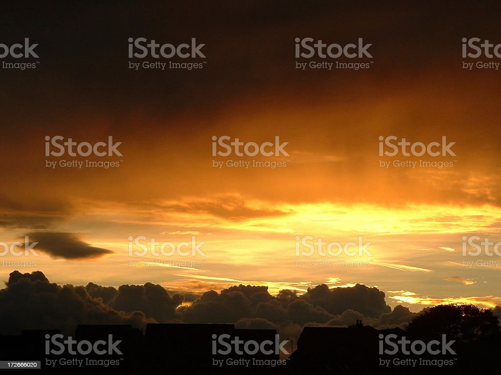 Clouds & Sunsets royalty-free stock photo