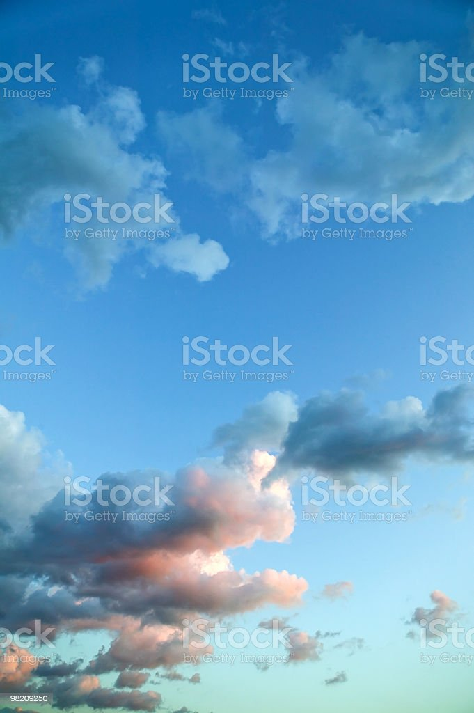 clouds to grupp royalty-free stock photo