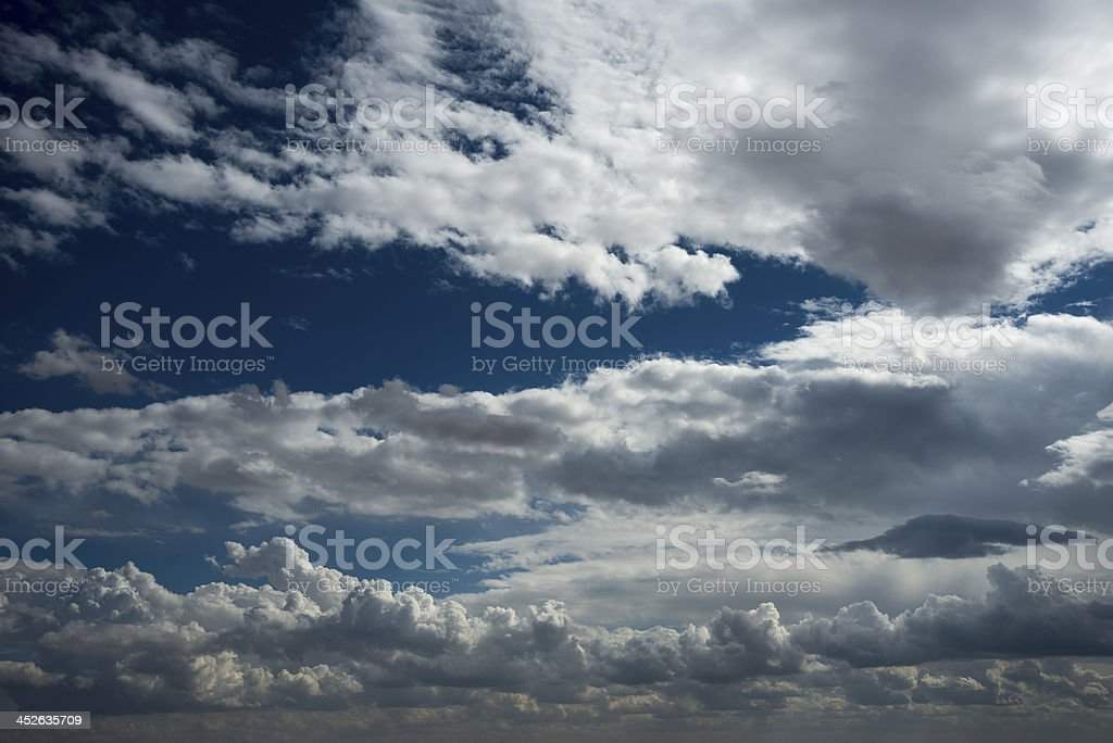 Clouds View royalty-free stock photo