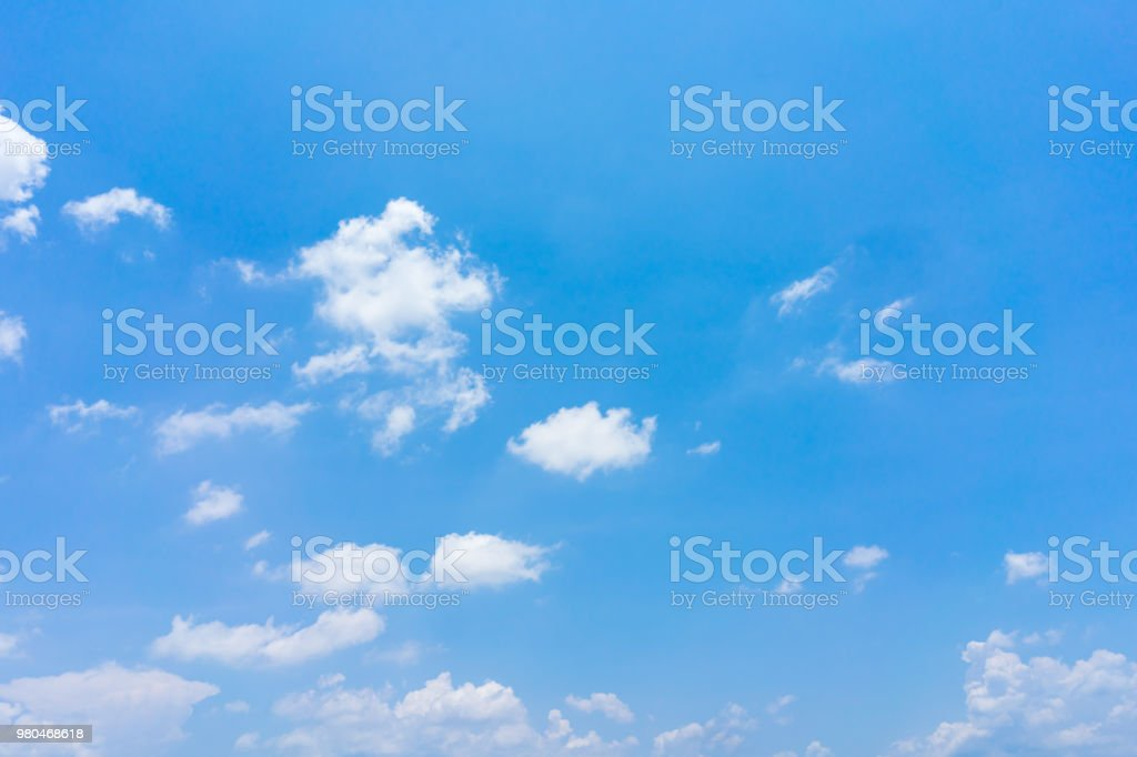 Clouds with blue sky background. stock photo