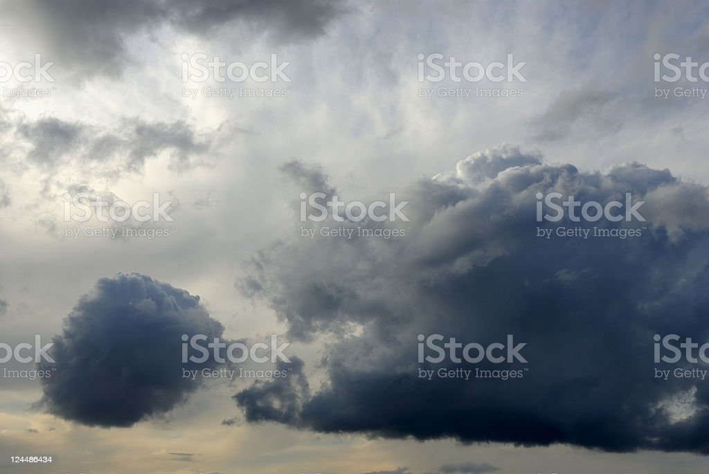 Clouds with Rain royalty-free stock photo