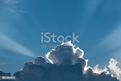 istock Clouds with Sunlight 992394922