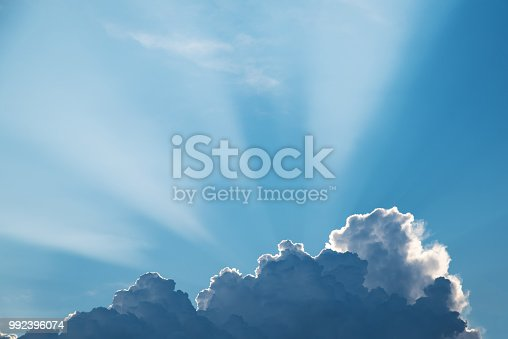 istock Clouds with Sunlight 992396074
