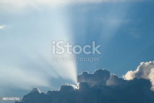 istock Clouds with Sunlight 992403754