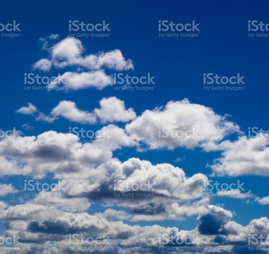 Clouds XXL royalty-free stock photo