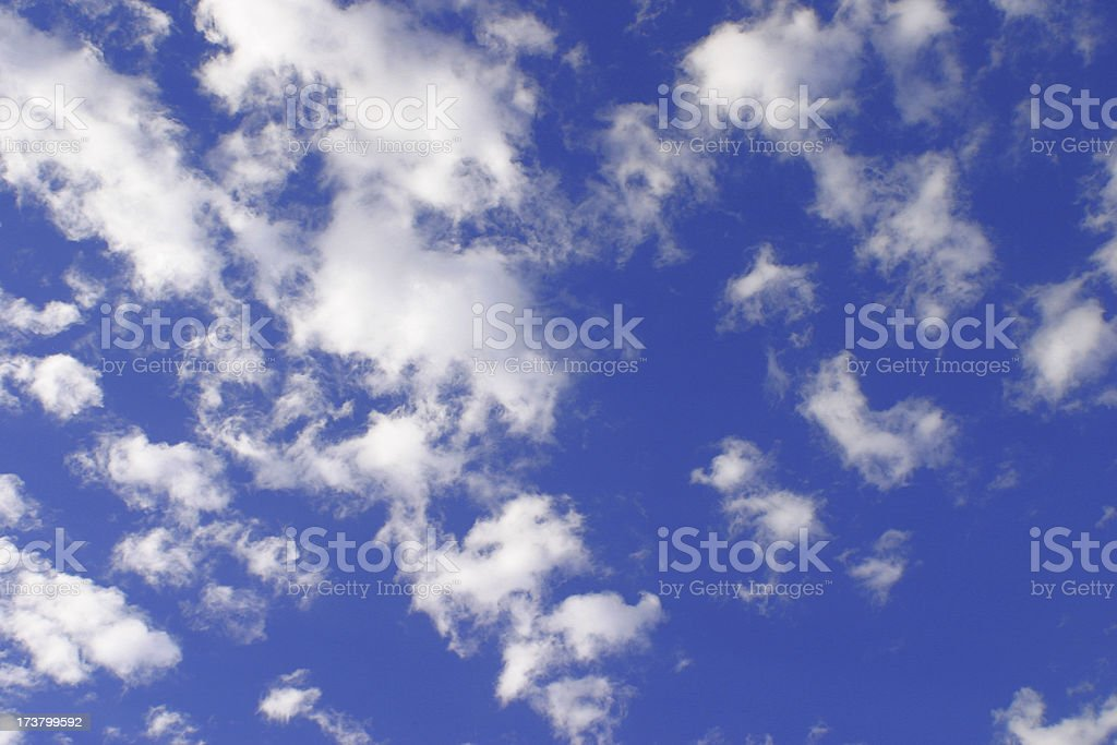 Clouds-01 royalty-free stock photo