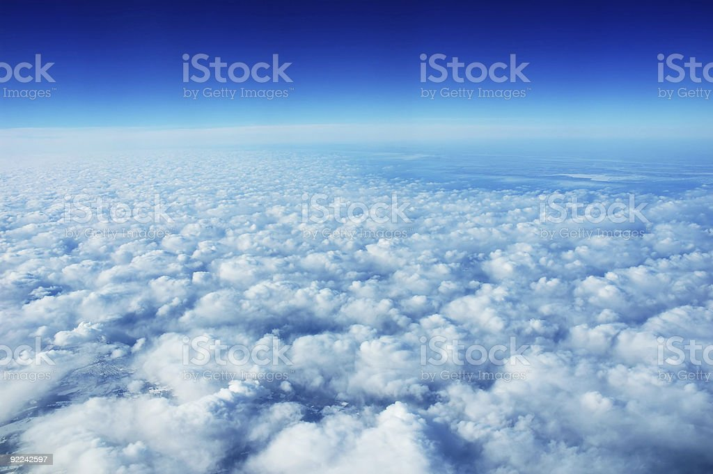 Clouds1 royalty-free stock photo