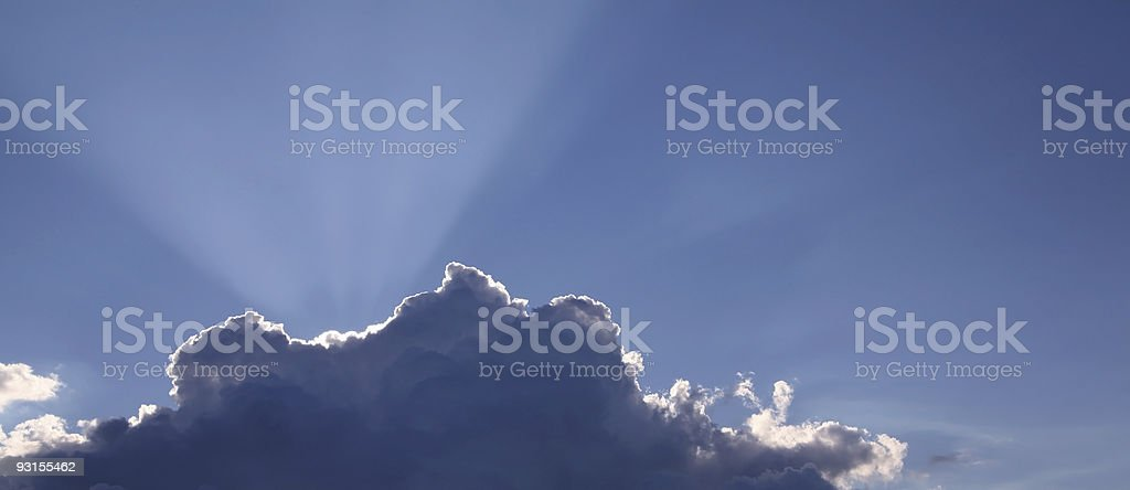 Cloudscape 1 royalty-free stock photo