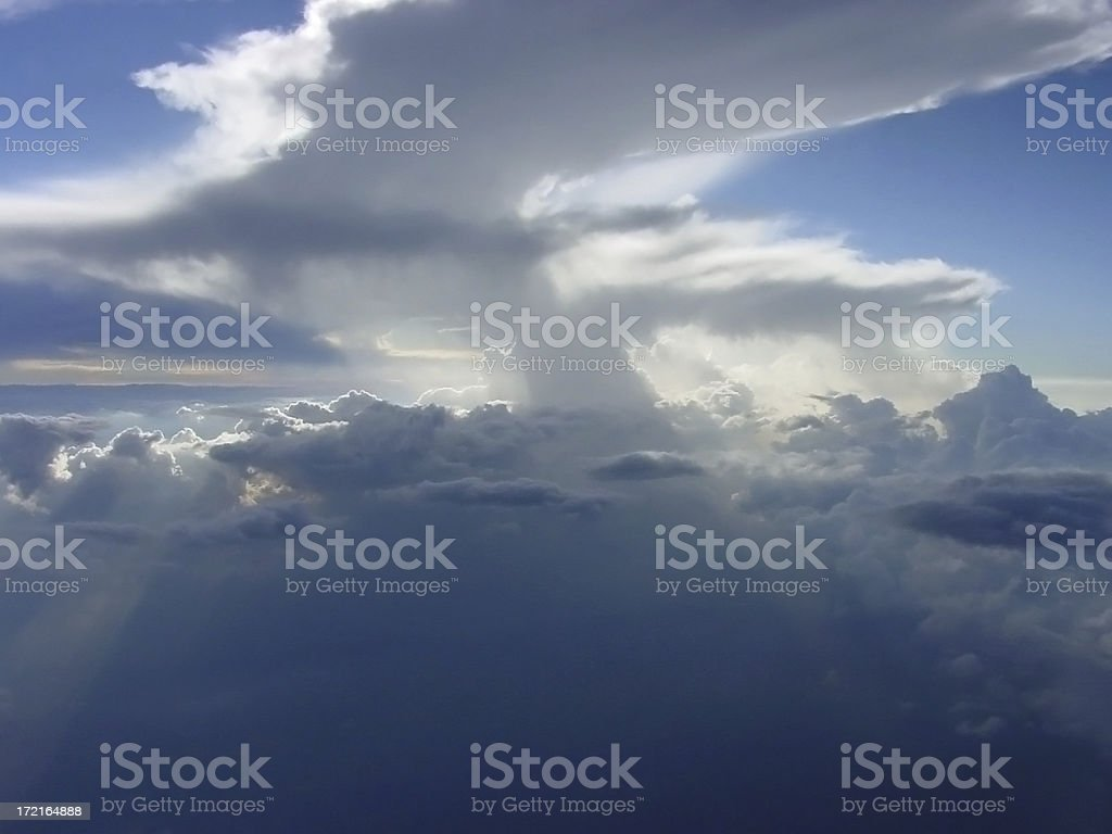 Cloudscape 2 royalty-free stock photo