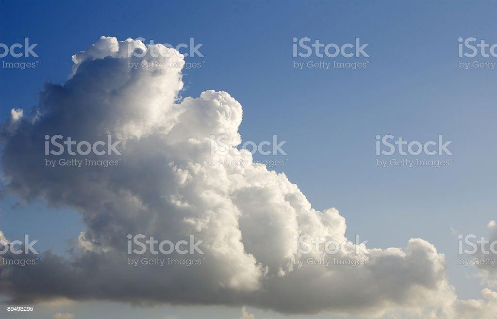 Cloudscape 4 (Cumulus Clouds) royalty-free stock photo