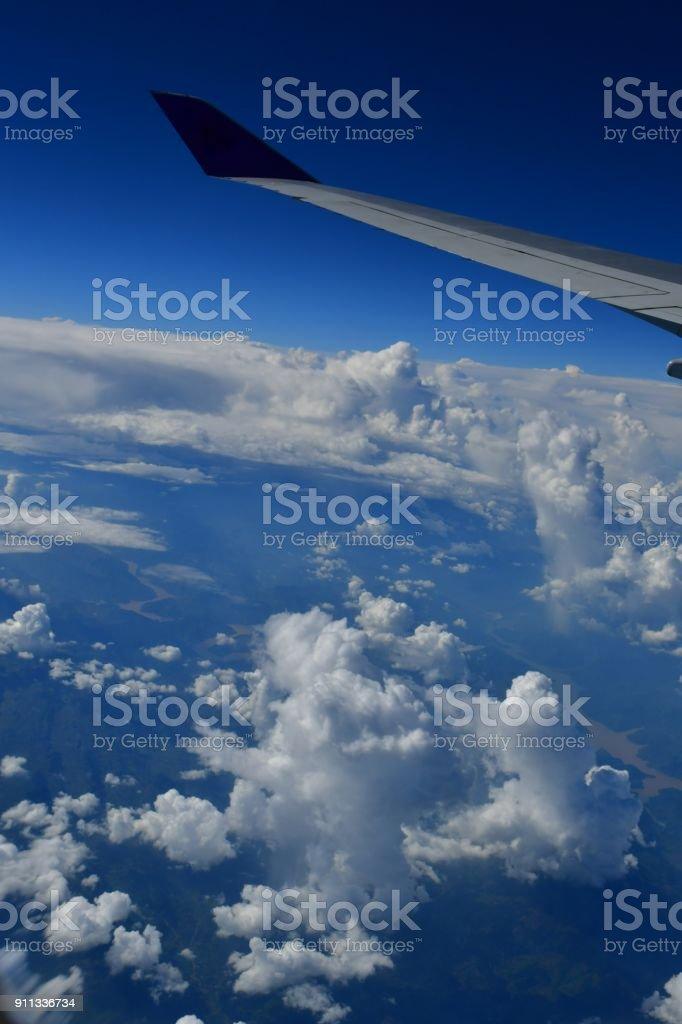 Taken from TG flight from Bangkok to Tokyo.