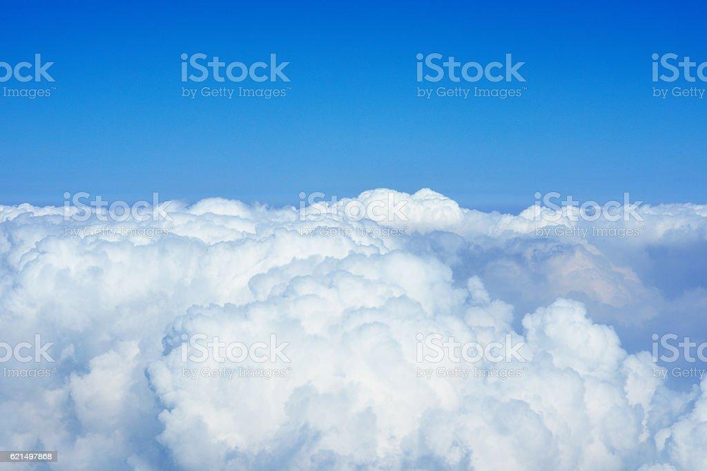 Fonds de nuage et ciel bleu photo libre de droits