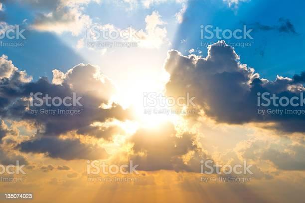 Photo of Cloudscape at sunrise