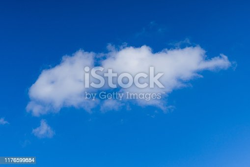 479184640istockphoto Cloudscape. Blue sky and white cloud. Sunny day. Cumulus clouds. 1176599884