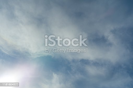 479184640istockphoto Cloudscape. Blue sky and white cloud. Sunny day. Cumulus clouds. 1181604322