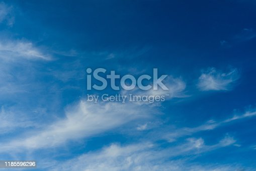 479184640istockphoto Cloudscape. Blue sky and white cloud. Sunny day. Cumulus clouds. 1185596296