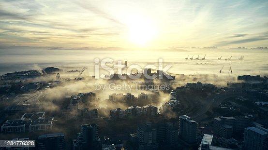 istock Cloudscape city 1284776328