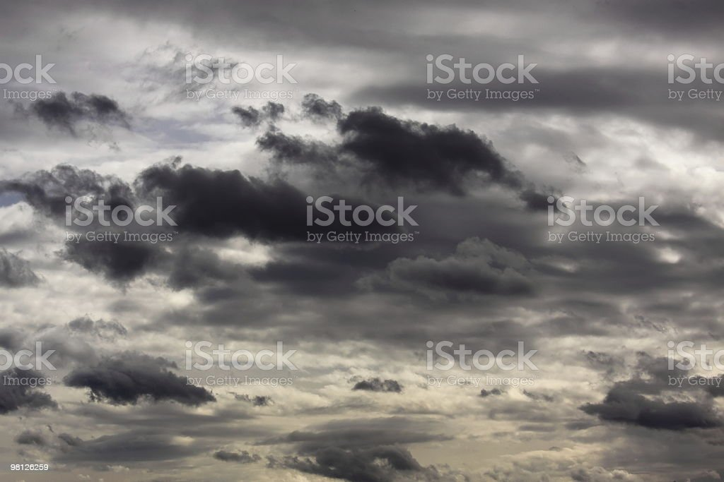Cloudscape Contrast royalty-free stock photo