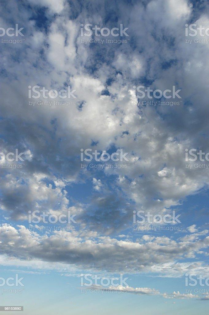 구름 풍경-드라마틱 클라우드 in the Sky royalty-free 스톡 사진