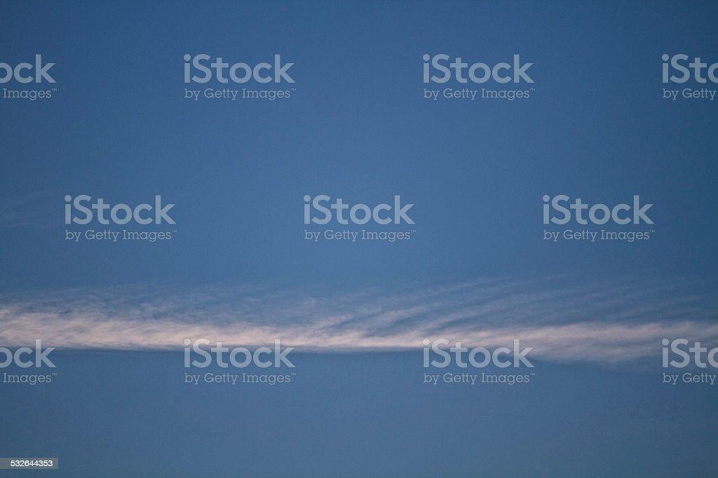 Cloudscape in blue sky stock photo