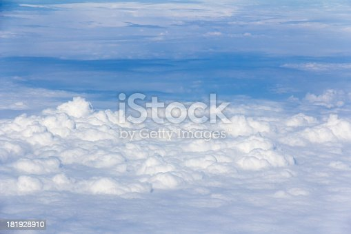 istock Cloudscape in stratosphere 181928910