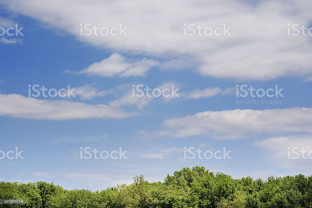 Cloudscape nature scene royalty-free stock photo