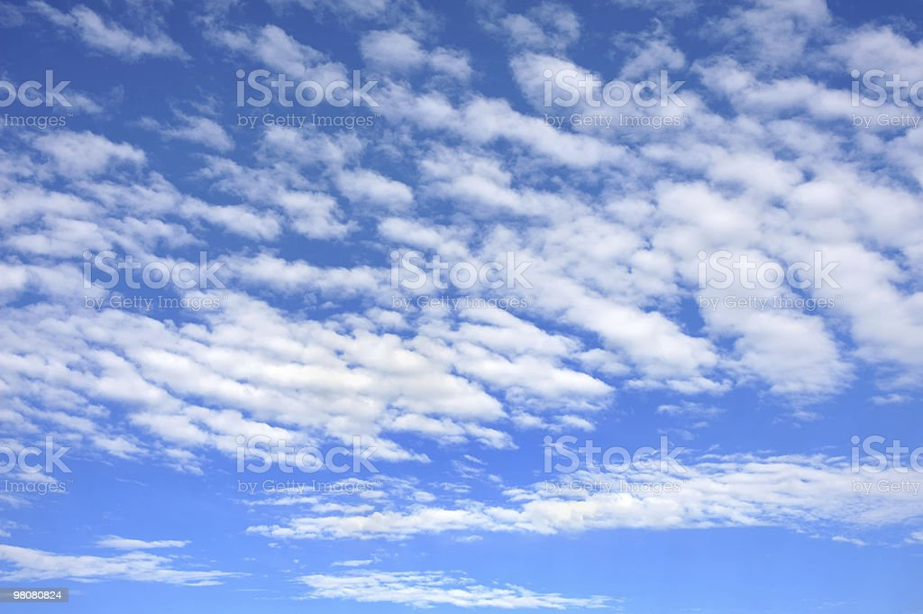 Cloudscape  - only sky and clouds royalty-free stock photo