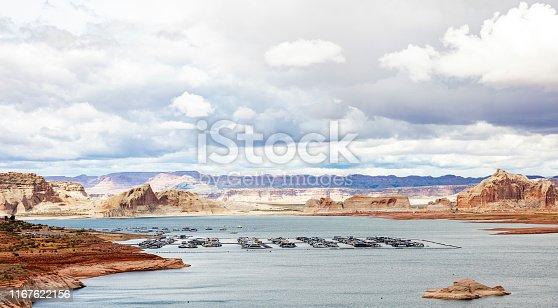 istock Cloudscape over Lake Powell Arizona and Utah USA 1167622156