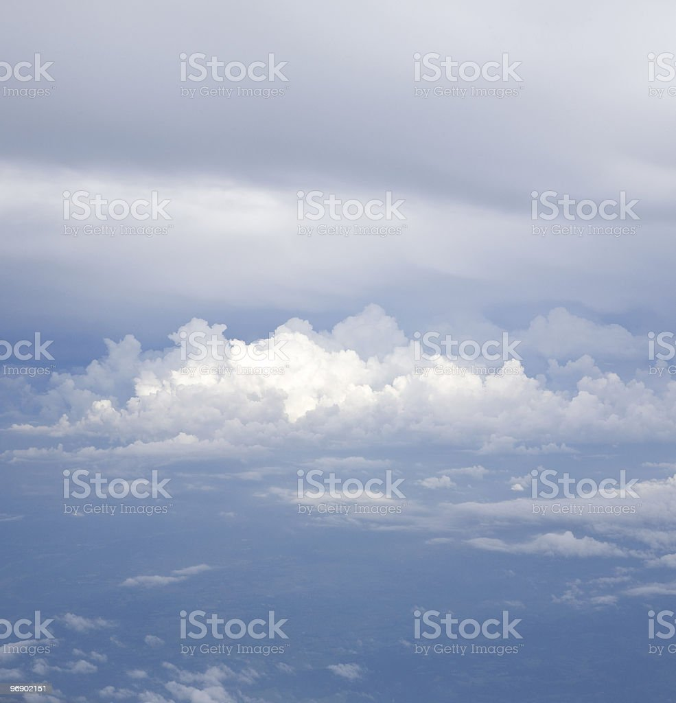 Cloudscape Panorama 2 royalty-free stock photo