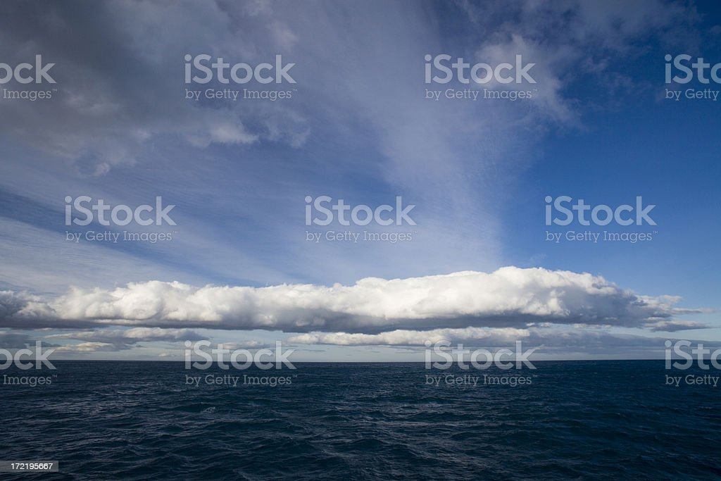 Cloudscape Panorama royalty-free stock photo