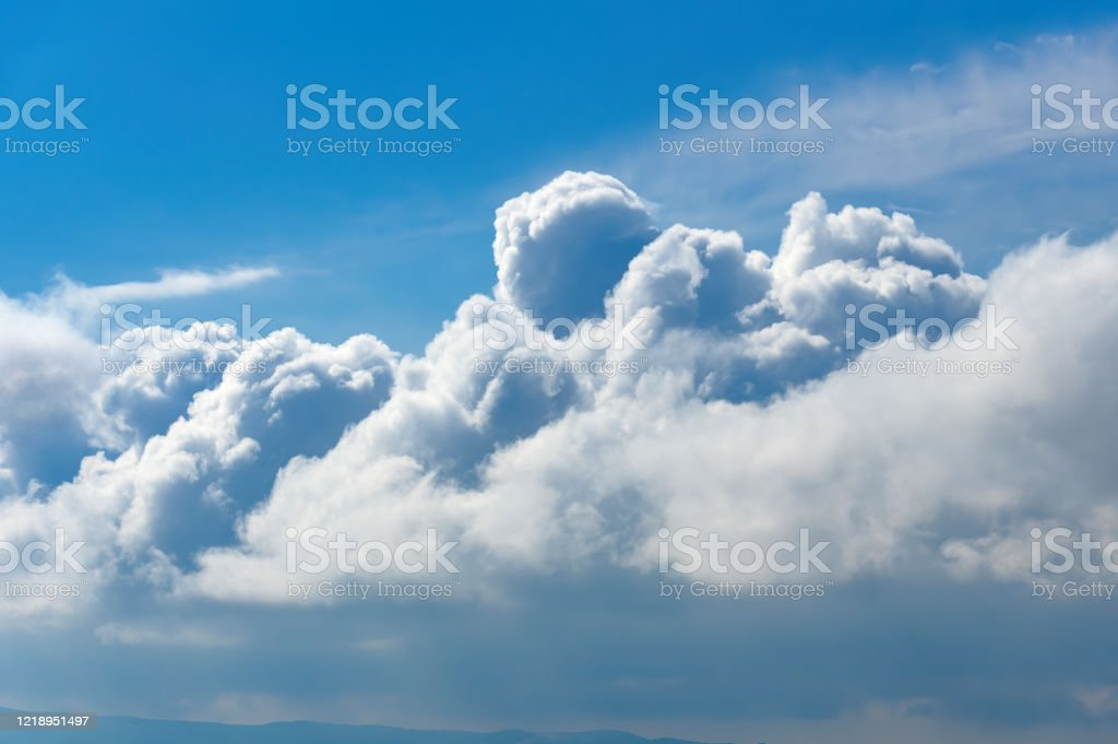 Cloudscape - Royalty-free Aerial View Stock Photo